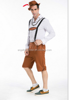 Best selling popular funny German oktoberfest guinness beer costume adult mens carnival cosplay costumes AGM069