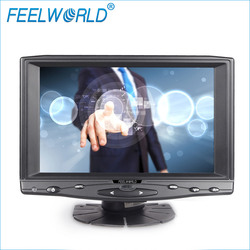FEELWORLD 1024*600 hd display HDMI VGA car tft lcd sun shade monitor