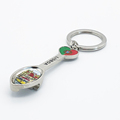 NEW Portugal logo custom keychain spoon shaped souvenir metal decorative spoon keychain