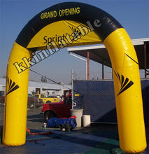 Inflatable Arch For Sports Events Advertising Inflatable Entrance Arch