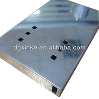 China sheet metal stamping aluminum instrument enclosures