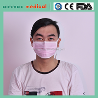 High Quality Surgical 3 Ply Face Mask with Ear Loop apply in hospital, factory, lab,food service indursty,home
