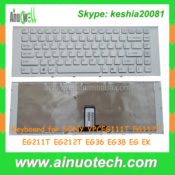 Laptop internal keyboard for Sony VPCEG111T EG112T EG211T EG212T EG36 EG38 EG EK Keyboard US UK SP AR IT
