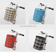 folding bicycle front rack basket scooter baskets
