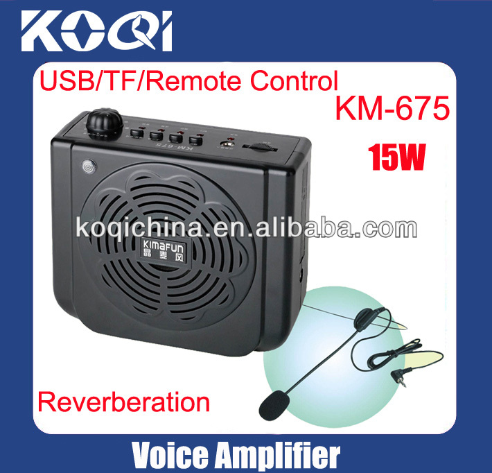 Portable Voice AMP Waistband LoudSpeaker PA System K-675