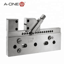 a-one stainless steel adjustable precise vise for wire-cut edm machine