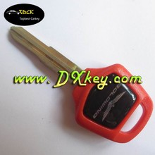 Topbest motorcycle key blank key in red for Goldwing GL1800