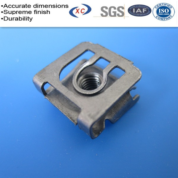 Custom Cable Clips : Custom small spring clip steel wire clips mn