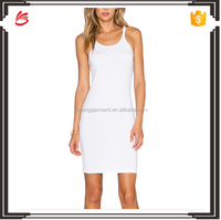Hot sale sleeveless woman dress summer dress new fashion ladies dress