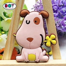 Wholesale Cheap Custom 3D Cartoon Animal Logo Soft PVC Rubber Fridge Magnets for Promotional Gifts