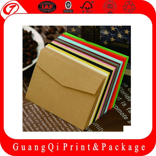 High quality customized Guangzhou envelope manufacturers
