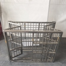 2017 High Quality Foldable Stainless Steel Pet Dog Cage For Sale Cheap