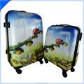 print mini small trolley box luggage case