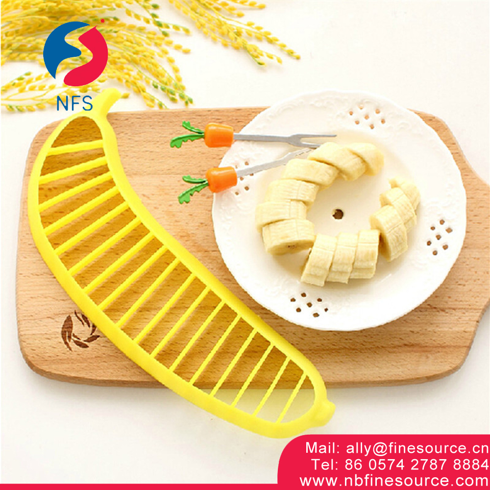 Plastic Vegetable Fruit Banana Salad Cutter