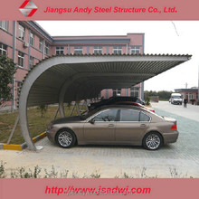 Chinese construction companies light steel structure garage for car
