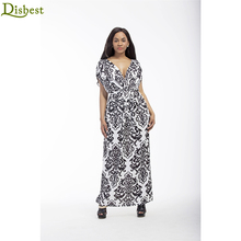Beautiful Elegant Women's V Neck Long Tunic dress xxxl Plus Size Boho Maxi Fress for Fat Women
