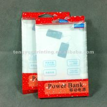 Electronic USB Rechargeable Cigarette Lighter with Led light In PVC Display box