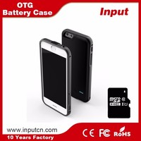 OEM mobile phone accessories OTG battery backup 2017 for iPhone 7 7plus