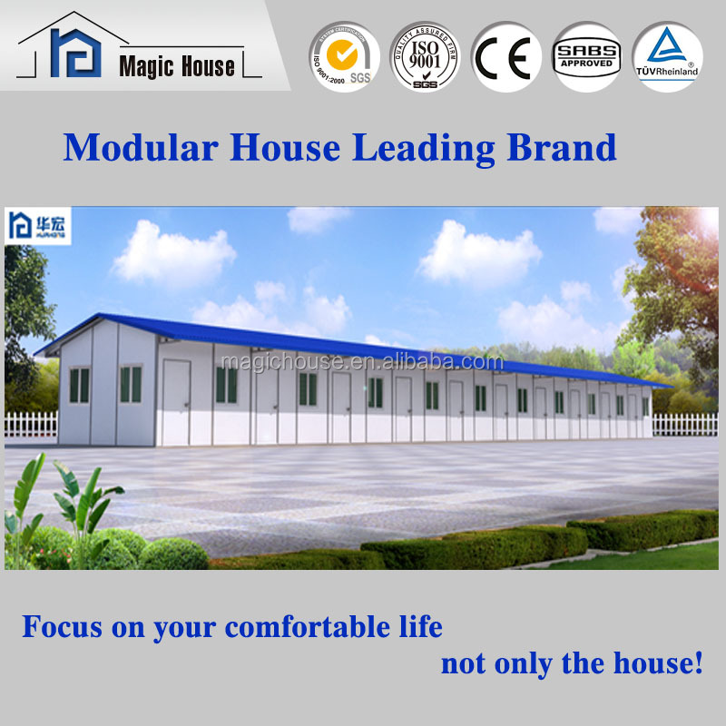 steel structure prefabricated dormitory prefabricated container living units for hotel or dormitory