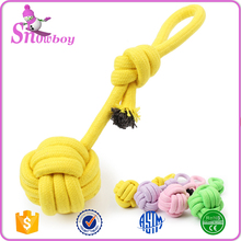 High Quality Dog Puppy Cotton Rope Animal Chew Toy Pet Teething Toys