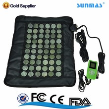 nuru roller relaxor tempurpedic full body Heating stone shiatsu vibrator electric massage mat