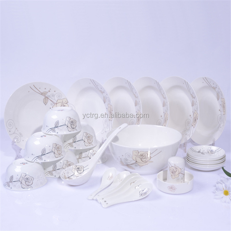 dinnerware set bone china dinner set 6 person dinnerware set product