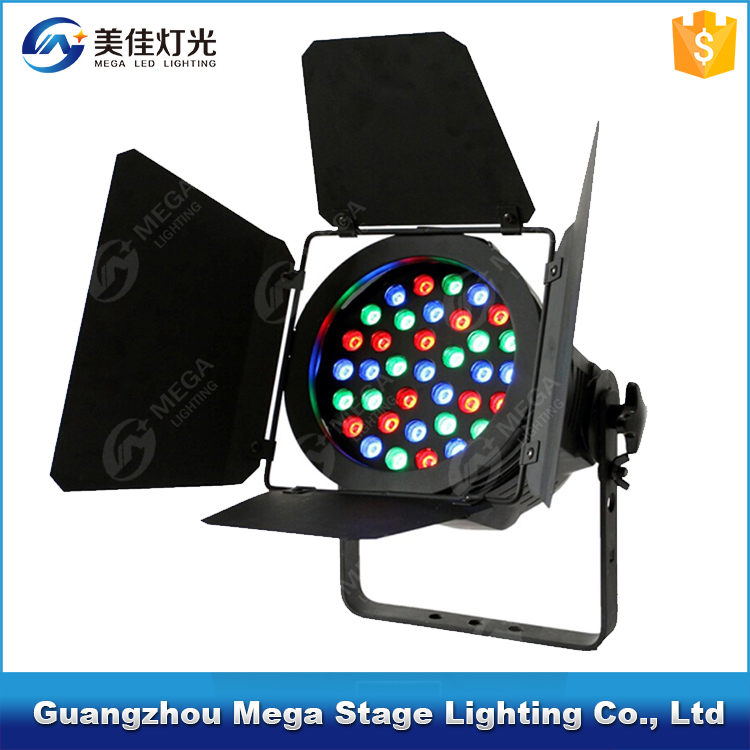 professional stage light 36pcs 3w rgb barn door dmx512 par lighting led