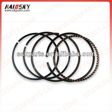 Haissky motorcycle parts spare motorcycle piston ring for honda CG125 motorcycle