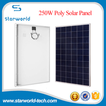 Factory Manufacturing PV Modules Solar Panel Cheap 250 Watt Poly Solar Panel for Sale