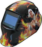 Newly born E sery with hot sexy painting sticker grinding and cutting function auto darkening welding helmets