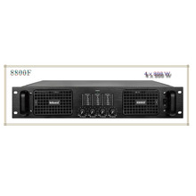 4 channels new product 8800F professional audio power amplifier with 4*800w