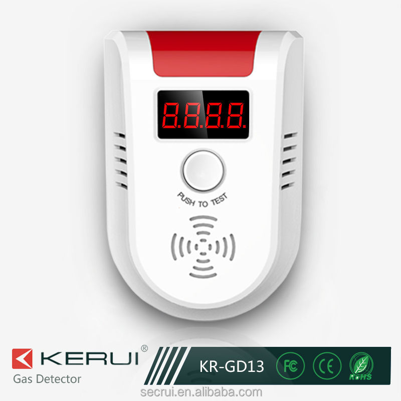Wireless value display Alarm Gas Detector/Gas Alarm (KR-GD13)