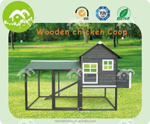 Large Wholesale wooden poultry cage with run