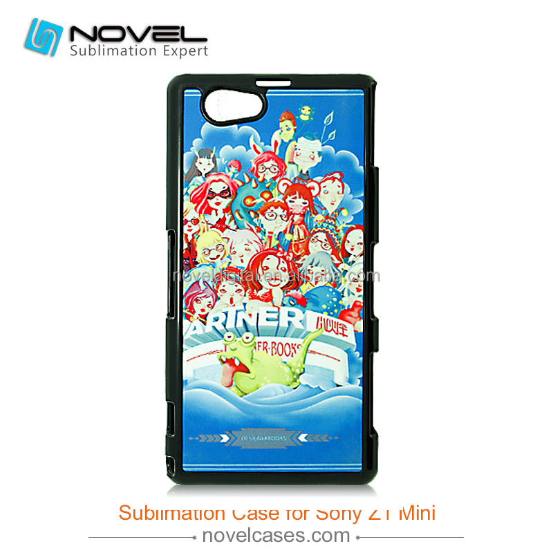 2D Sublimation Case, Phone Case Sublimation Printing For Sony Z1 mini