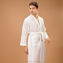 white kimono waffle bathrobe contain 65%cotton sex doll for man