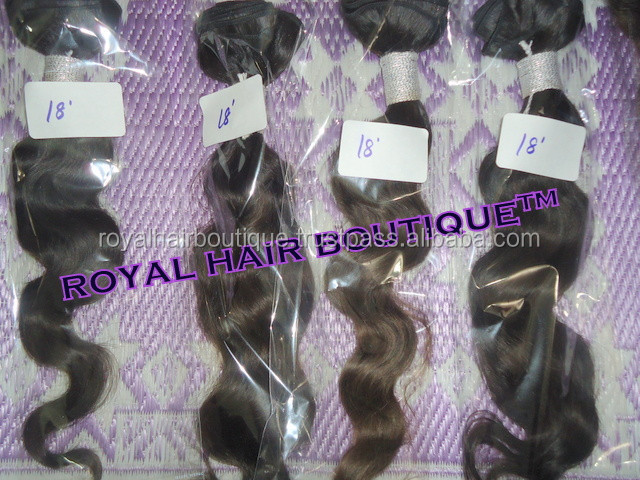 100% Real Virgin Indian Hair weave