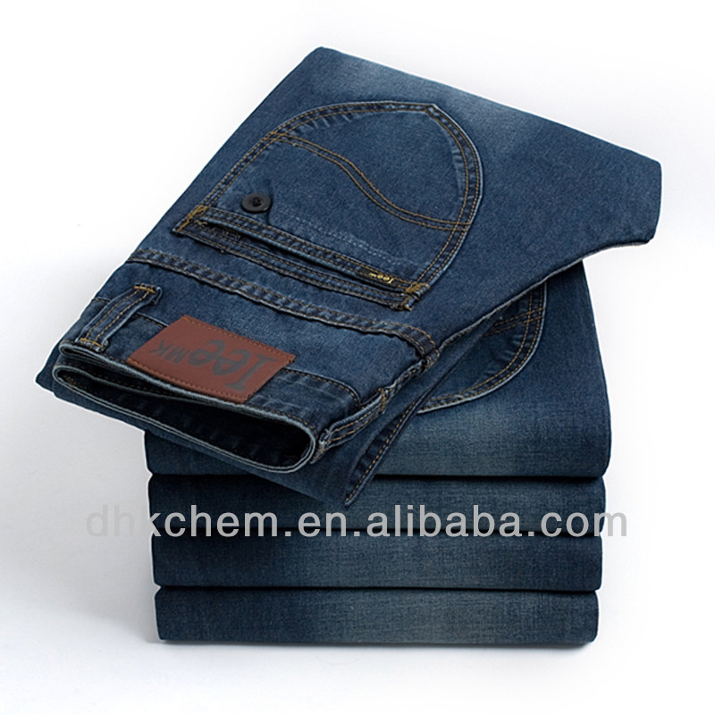 Anti back staining agent for denim fabrics