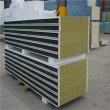Fireproof Thermal Insulated Rockwool Sandwich Panel for Clean Room Wall/Ceiling