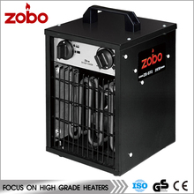 ZOBO Newest Design Electric Fan Heater Popular In Europe