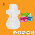 Wholesale brand name 245mm, 280mm, 285mm.295mm, 320mm sanitary napkin