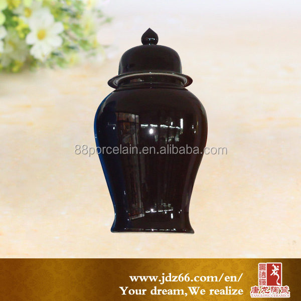 Home decoration chinese style porcelain ginger jar