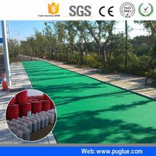 safe anti skid speed zone material spray adhesive colorful walking patchhigh friction road surfacing