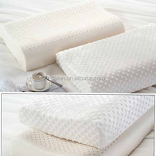 Made in China sleep well natural latex rubber foam pillows