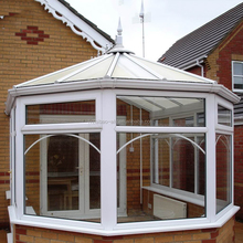 China Hot Sale Aluminum Garden Glass Sunroom