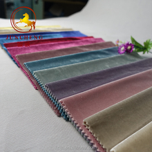 Various color of Italian cotton velvet <strong>fabric</strong> for clothing/sofa