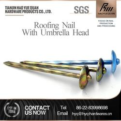 Professional competitive price roofing nail smooth shank roofing nail for asphalt shingles
