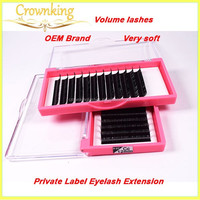 High quality silk eye lashes extensions, Grafted eyelashes