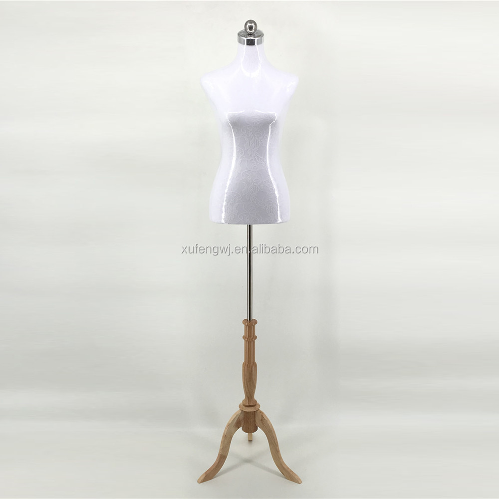 Upper-Body Mannequin Type and Stand Style upper body female mannequin