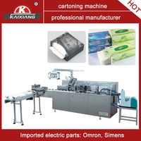 carton box sealing machine for paper tissue packaging solution