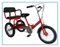 Manual assembly children tricycle two seat HB16-16